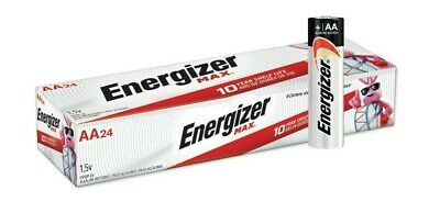 Energizer Max E91-VP AA 1.5V Alkaline Button Top Batteries - 24 pack