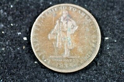 1834 - HT - 174 Lowell MA S.L.Wilkins Boots Shoes Hats Hard Times Token! #H18047