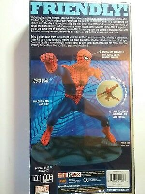 The Amazing Spiderman Marvel Comics snap together model by MPC