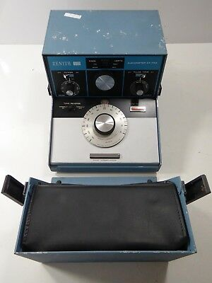 Cased Vintage Zenith Hearing Portable Audiometer  Model:ZA-113A. Audiology - ENT