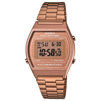 Casio B640WC-5AVT Vintage Collection (Rose Gold) Stainless Steel Digital Watch