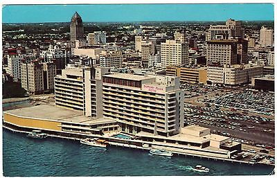 1963 Dupont Plaza Hotel Miami Beach Fl Florida Motel Chrome Postcard