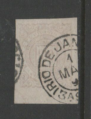 BRAZIL USED STAMPS scott 96a imperf single with258  1018