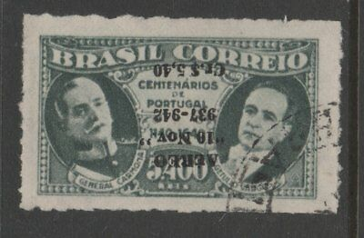 BRAZIL USED STAMPS scott C47 with INVERTED OVERPRINT 264 1018