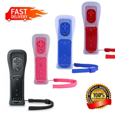 Wiimote Built in Motion Plus Inside Remote Controller For Wii / Wii U Console