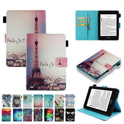 """for Kindle Paperwhite 2018 10th 6"""" Smart Magnetic PU Leather Stand Case Cover"""
