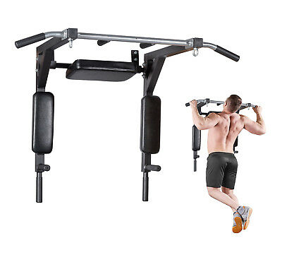 Pull Up Bar Wall Mounted Chin Up Bar Fitness Home Gym Power Full