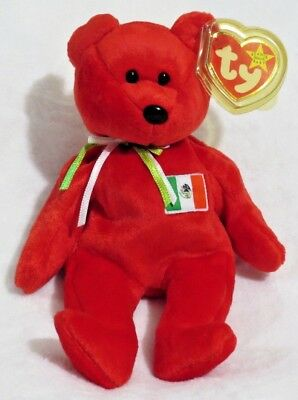 TY Beanie Baby - 1999 Osito Mexican Bear 9in - NEW WITH TAGS FREE SHIPPING 3cac36988dc8