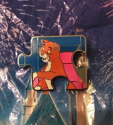 Disney Aristocats Character Connection Puzzle Pin Thomas O'Malley LE 1100