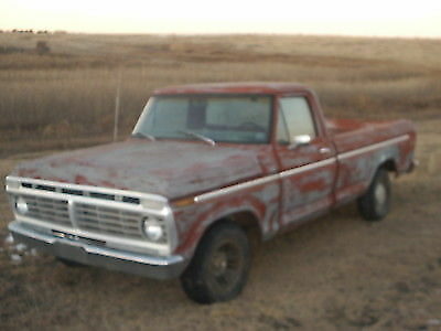 1973 Ford F-150  1973 FORD F-150
