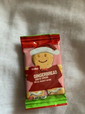 Coles Little Shop Christmas Mini Collectables - Gingerbread Ice Cream