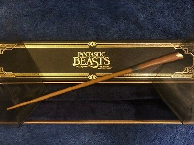 """Newt Scamander Wand 14"""", Official Noble Collection Fantastic Beasts Harry Potter"""