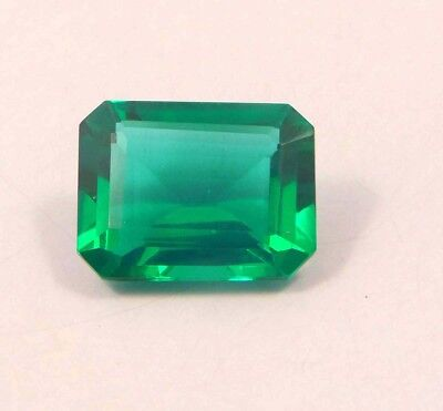 14 ct Treated Faceted Emerald Cabochone Loose Gemstones RM13957