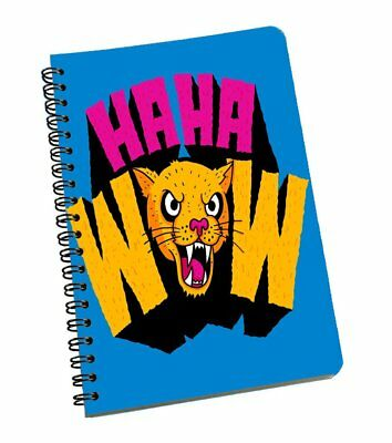Text A5 Notebook Journal Diary Office Student Drawing Notepad Exercise Portable