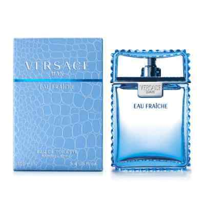 NEW Versace Man Eau Fraiche EDT Spray For Men 100ml