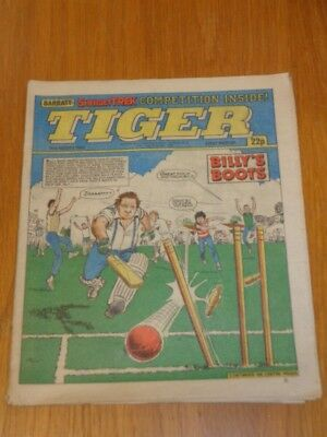 Tiger 11Th August 1984 Ipc Uk Magazine =