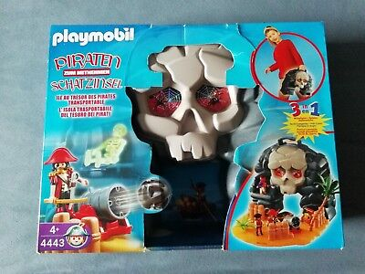 Playmobil Piraten Schatzinsel 4443