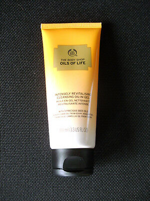 The Body Shop Oils of Life Intensely Revitalising Cleansing Oil-In-Gel, 100ml