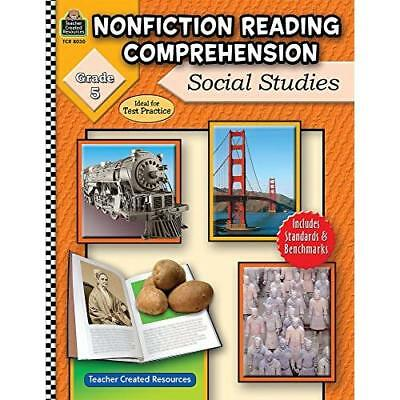 Nonfiction Reading Comprehension: Social Studies, Grade - Paperback NEW Foster,