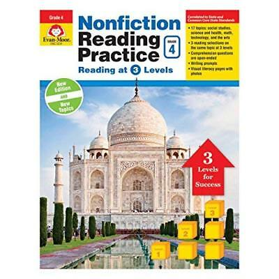 Nonfiction Reading Practice, Grade 4 - Paperback NEW Publishers, Eva 01/01/2017