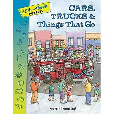 Hide-and-Seek Puzzles: Cars, Trucks & Things That Go - Paperback NEW Thornburgh,