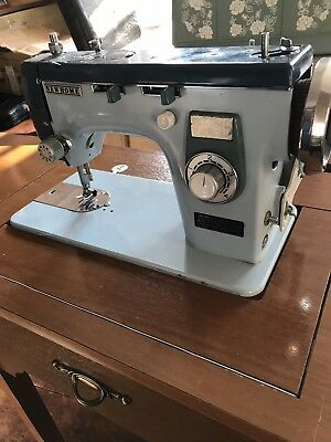 Janome New Home 577 Vintage Embroidery Sewing Machine In Table