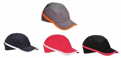 PORTWEST PW69 Vent Cool black, grey, navy or red baseball bump cap