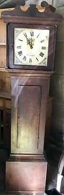 Grandfather clock long case Fry Southampton