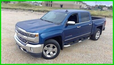 2017 Chevrolet Silverado 1500 2LZ 2017 2LZ Used 5.3L V8 1 Owner Local Trade In 4WD Bose OnStar Heated/Cooled Seats