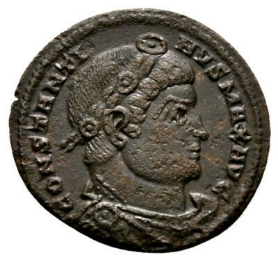 CONSTANTINE THE GREAT (330-335 AD) Ae3 Follis, Trier #AB 1175