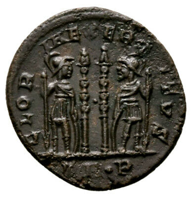 CONSTANTINE THE GREAT (330-335 AD) Ae3 Follis, Trier #AB 1176
