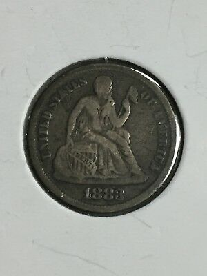 1883 Seated Liberty Silver Dime