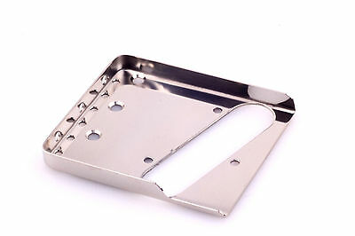 "Tele® Short Treble Side Bridge Nickel 0.60""CR Steel-Made in USA-B.Y.O.B Project"
