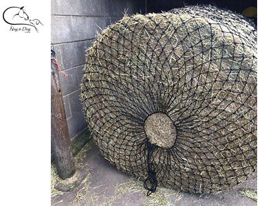EXTRA LARGE ROUND BALE HAYLAGE HAY NET SLOW FEEDER SMALL HOLE 3M x2M FREE P&P