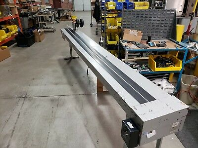 Used Cheshire 12' Shingling Conveyor, 115vac