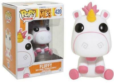 Funko Pop Fluffy 420 Despreciable Me 3 Unicornio Figura 9 Cm Cine #1