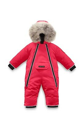 **BRAND NEW** Canada Goose 0-3m Baby Lamb Snowsuit Red - 31% off!! Free Postage