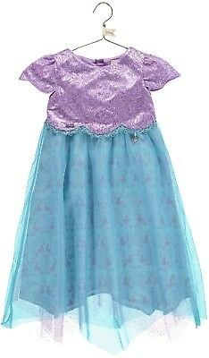 c3a683e5aa010 Girls Luxury Official Disney Boutique Ariel Mermaid Party Occasion Dress  3-10yrs