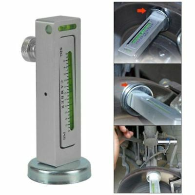 Magnetic Measure Gauge Tool Car/Truck/Auto Camber Castor Wheel Alignment Hot NEW