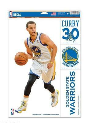Stephen Curry Golden State Guerrieri 4 Adesivo Decal Badges Set Basket NBA