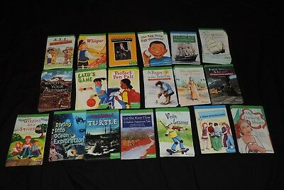 Lot of 19 Harcourt LEVEL GRADE 5 Readers Classroom Home Children Reading Books