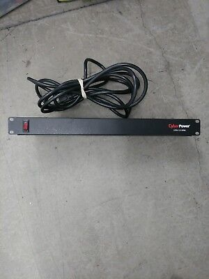 Cyberpower CPS-1215RM Rackmount PDU Power Strip - 10-Outlet