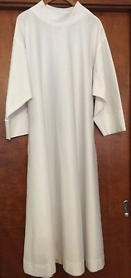 Holy Rood Guild Traditional Alb Size 54 - Holy Rood Guild Pure White Alb - Used