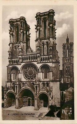 Cp Laon Cathedrale - Zz 9691
