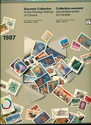 1987 Souvenir Collection of the Postage Stamps of Canada Booklet (OOAK)