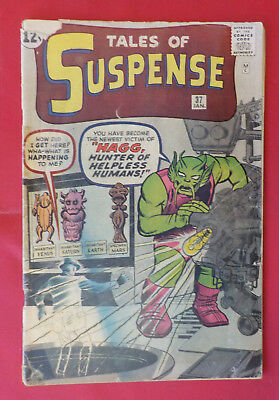 Tales of Suspense #37 ! MARVEL 1963 ! 18 PAGES of DITKO ! KIRBY CVR ! hayfamzone