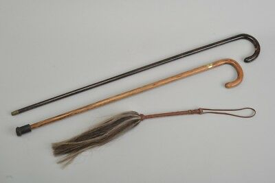 From Captain Hogspear's Hall Stand. Walking Canes & Fly Switch. Ref JOR