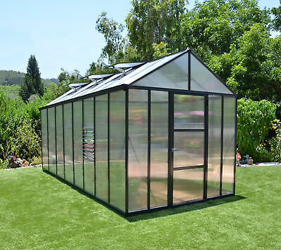 Palram Glory 8 Ft. W x 16 Ft. D Greenhouse