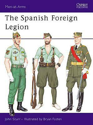 Spanish Foreign Legion by John Scurr (English) Paperback Book Free Shipping!
