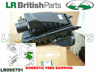 Genuine Land Rover Air Cleaner Range Rover Discovery Sport 3.0L Lh Lr095791 New